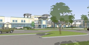 Digital Rendering of the School MM Building